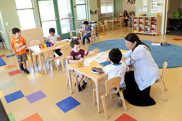 The campus preschool